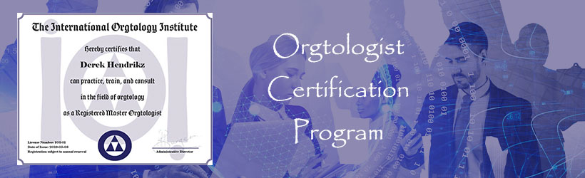 Orgtology Certification Program