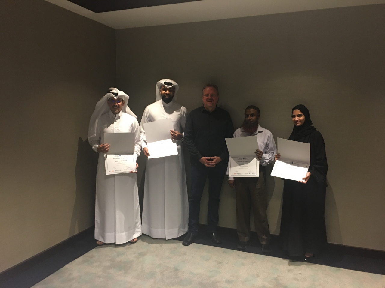 2018, 05 - 09 August: Performance Management Systems Training for the Qatar Skills Academy 2018-11-15